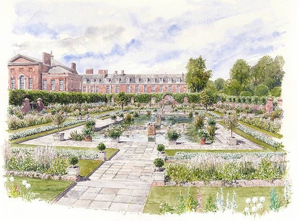 A new pop up white garden at kensington palace is to pay for Indoor gardening diana yakeley