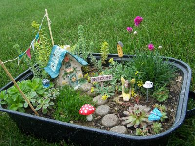 Create your own fairy wizard garden activities for Garden design your own