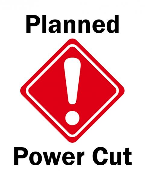 Image result for PLANNED POWER CUT